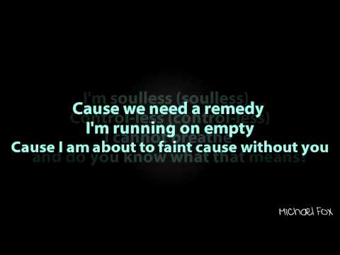 August Rigo - Less of Me [Lyrics on Screen] M'Fox