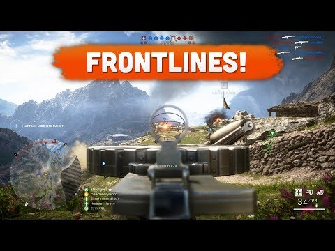 BACK ON FRONTLINES! - Battlefield 1 | Road to Max Rank #106