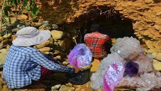 Primitive kh    Technology  _ A      Natural geme exploration technology in pailin gem site