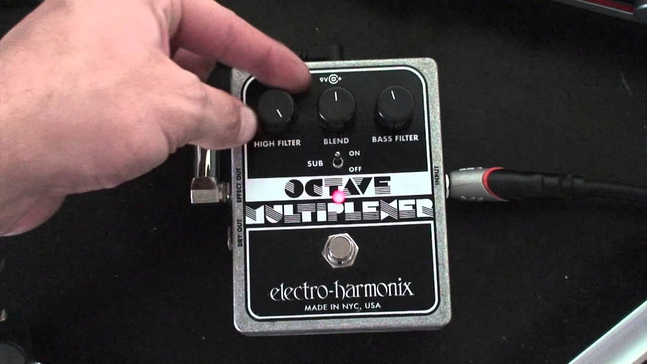 electro harmonix octave multiplexer review youtube. Black Bedroom Furniture Sets. Home Design Ideas