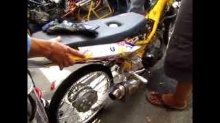 Test lực Exciter CLB Phụ tùng xe máy AE Q5 (Drag Racing Bình Dương 2014)