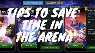 How To Maximize Your Time And Points In The Arena: Marvel Contest of Champions