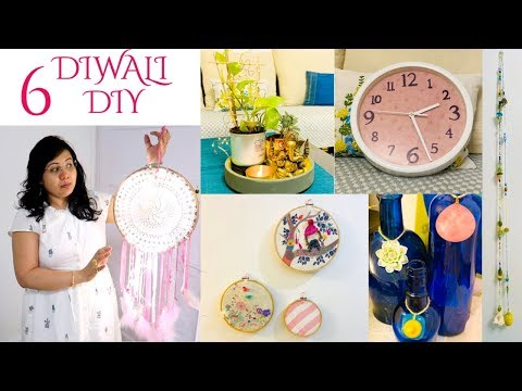 6 Easy DIY Indian Home Decor Ideas On A Budget For This DIWALI - Decoration Ideas & Tips | Hindi