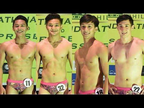 Mr. Hannah's World Tourism Philippines 2018 Candidates in Swimwear