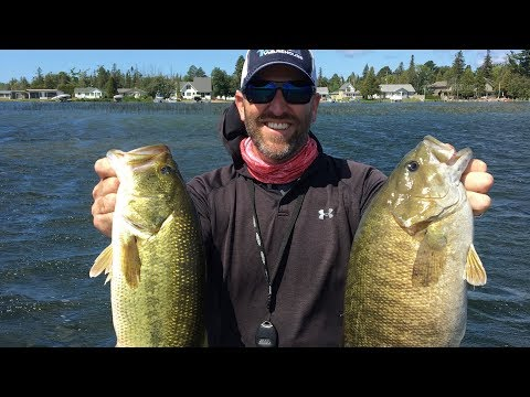 GoPro DIES *Footage Salvaged* Northern Michigan Bass Fishing: Alpena And Petoskey