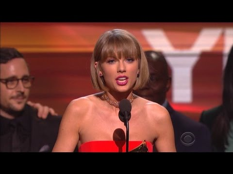 Celebrities Praise Taylor Swift's Grammy Speech for Inspiring Women