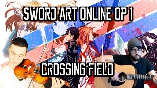 Sword Art Online Opening 1 - Crossing Field ft. Sefa Emre İlikli - ソードアート・オンライン