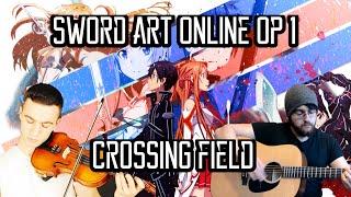 Sword Art Online Opening 1 - Crossing Field Ft. Sefa Emre İlikli - ソードアート・オンライン