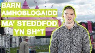 BARN AMHOBLOGAIDD - MA' STEDDFOD YN SH*T
