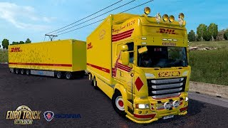 ETS2 1 31 Scania R620 Ekeri Bourges Luxembourg