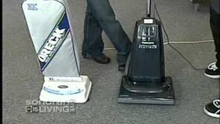 Panasonic Platinum vs Oreck Vacuum