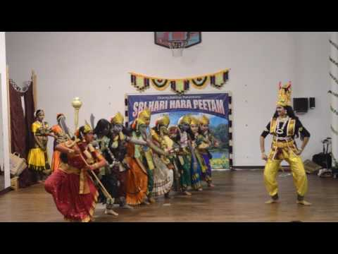 nava durga dance performance by Raagaleena Dance academy