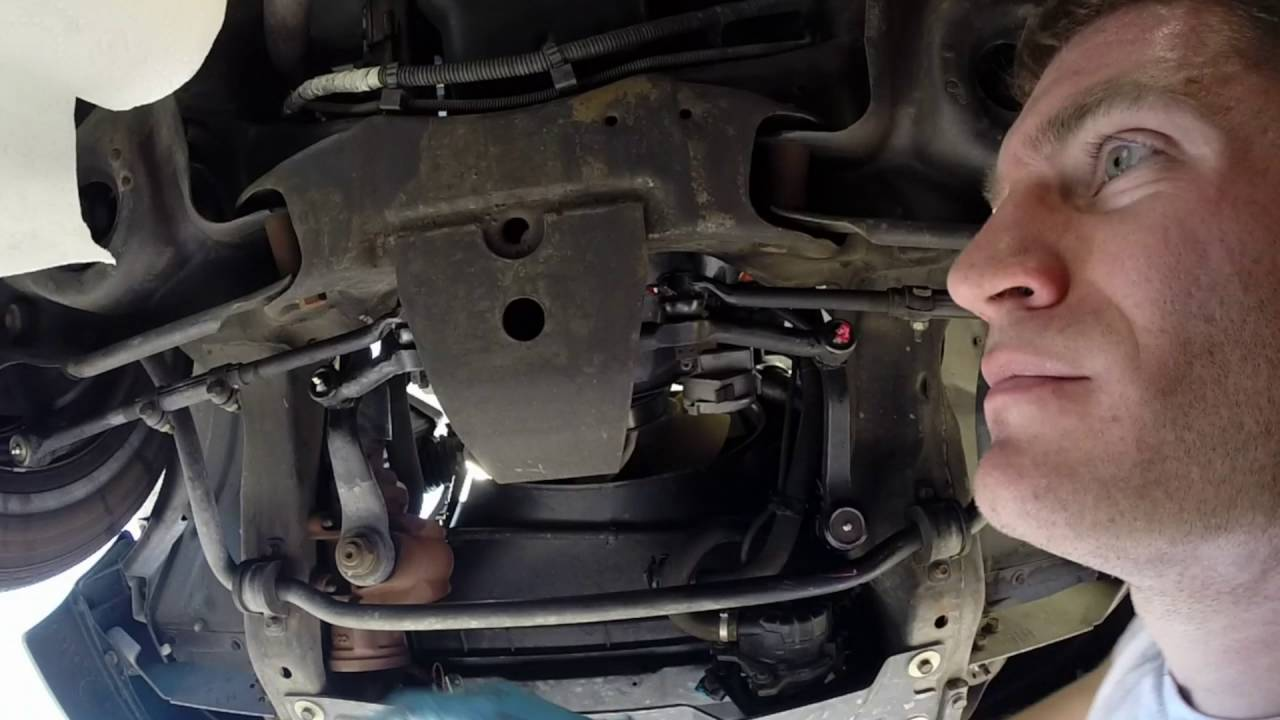 How to change the oil and grease the suspension on a 2002 Chevy ...