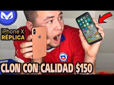 iPhone X CLON PERFECTO QUE SORPRENDE $150