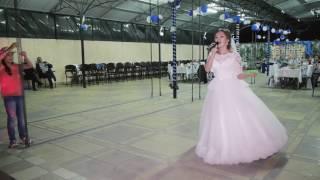 Невеста поет жениху (кавер Ани Лорак - С Первой улыбки)
