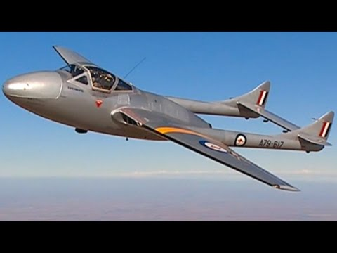 DH115 RAAF Vampire Temora Aviation Museum NSW Australia