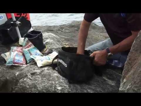 Pesca con la bolognese da riva con Marco Meloni e canna Shimano Fireblood TE4 (long version)
