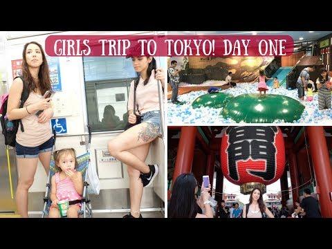 Things to Do in Tokyo! | Day 1: Asakusa, Skytree & Kid's Sauna