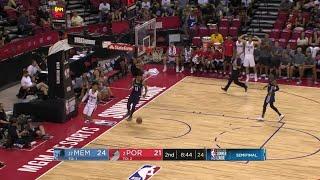 2nd Quarter, One Box Video: Portland Trail Blazers vs. Memphis Grizzlies
