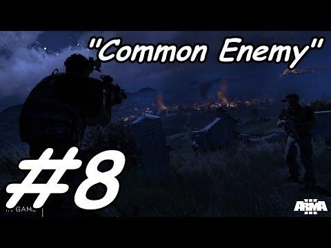 "Arma 3 Campaign Gameplay Walkthrough Part 8 ""Common Enemy "" Episode 2"