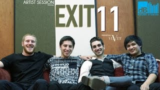 Exit 11 performs Record Girl at DB Sound Studios