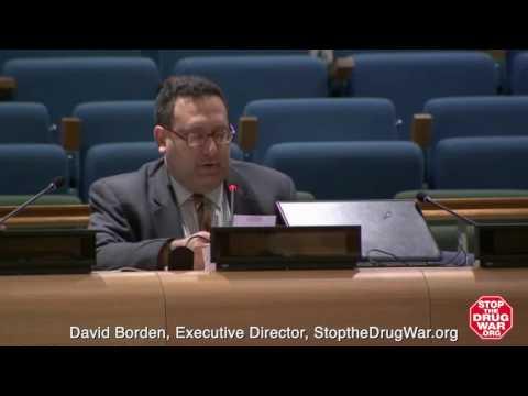 David Borden presentation at UNGASS preparatory civil society session, February 2016