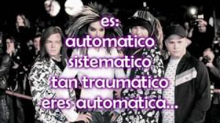 automatic tokio hotel letra en español
