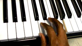 Thinking About You - Frank Ocean piano tutorial