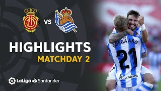 Highlights RCD Mallorca vs Real Sociedad (0-1)