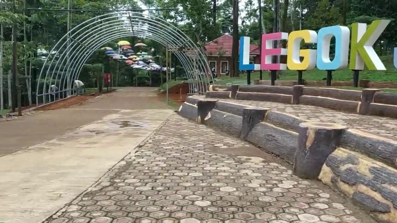 Review pintu masuk Legok Jamboe (tempat wisata)