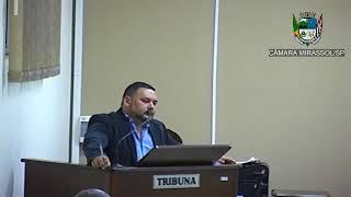 2ª Sessão Ordinária - Vereador Walmir Chaveiro