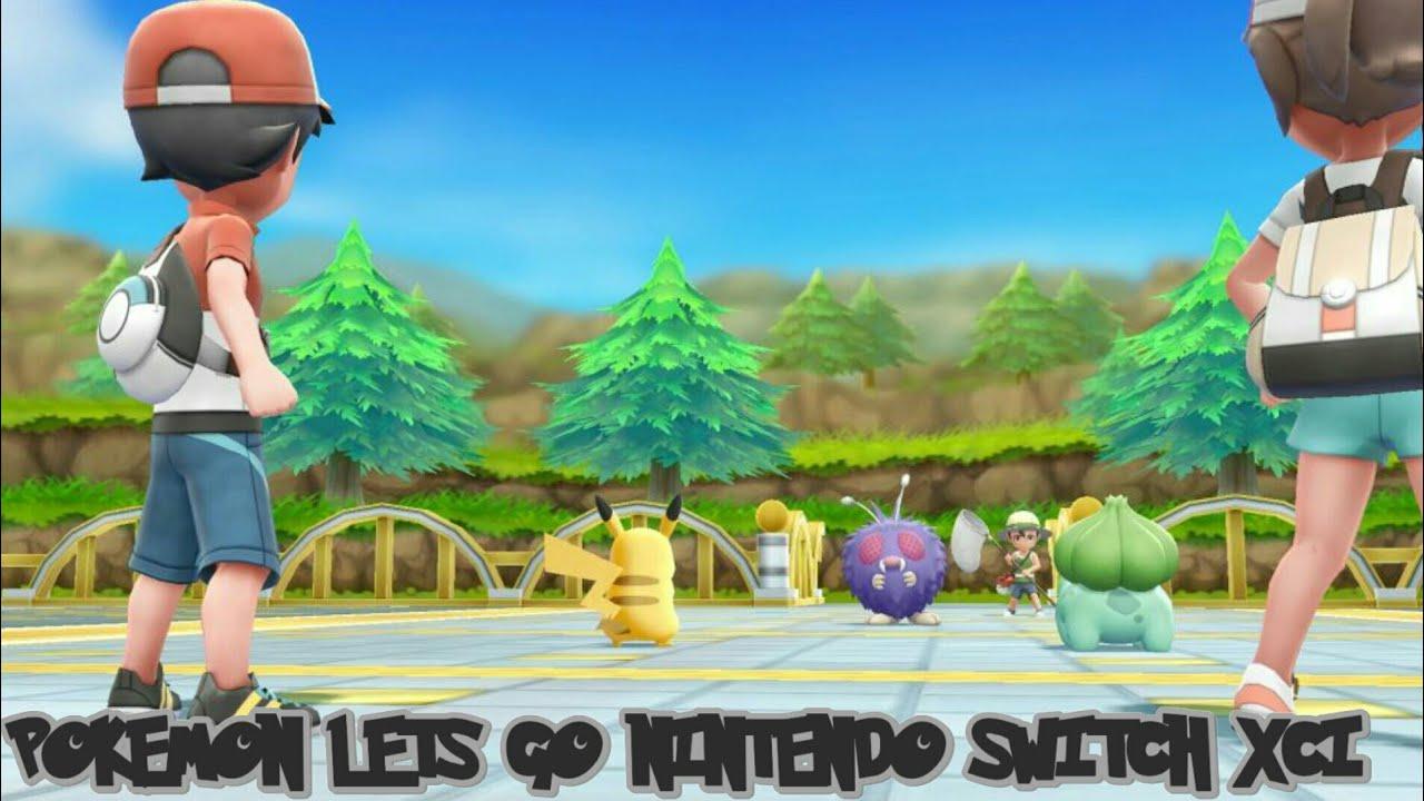 Pokemon Lets Go pikachu para Nintendo switch (XCI,NSP)