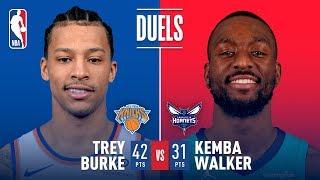 Trey Burke Has Career Night In Overtime Thriller vs Kemba Walker!