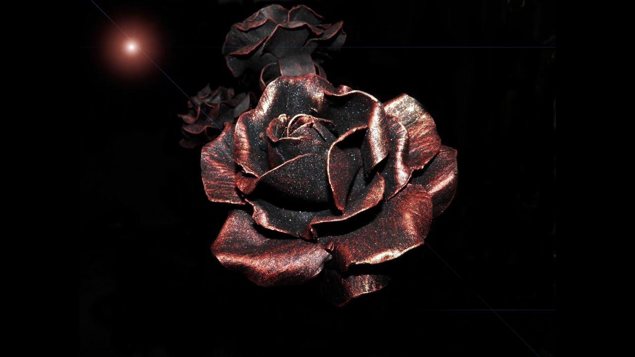 Ковка цветы из метала фото
