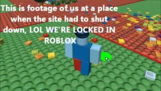 A piada horrível de April Fools de 2012 em Roblox. Hack