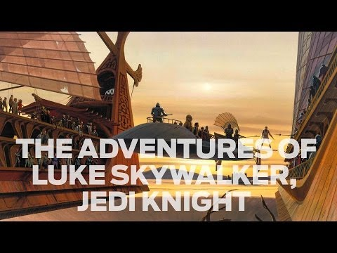 The Adventures of Luke Skywalker, Jedi Knight: An Interview with Tony DiTerlizzi