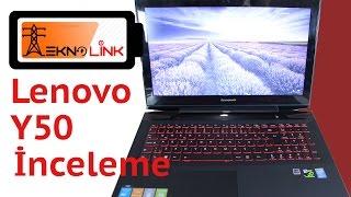 Lenovo Y50 Dizüstü Bilgisayar inceleme , test ve oyun performansı videosu