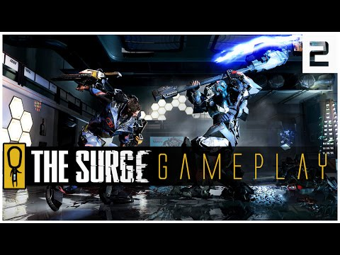 THE SURGE GAMEPLAY PC - PART 2 - INTO THE ABYSS - Let's Play The Surge Gameplay PS4 XBOX