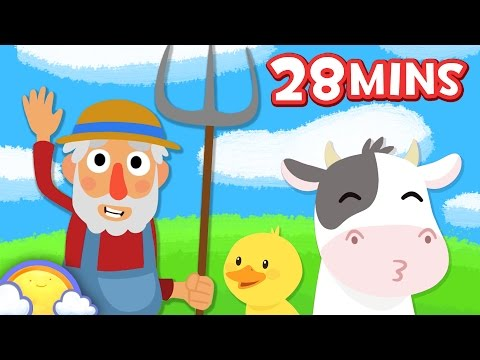 Old MacDonald Had a Farm + More Nursery Rhymes and Songs! | 28 Minute Compilation | CheeriToons
