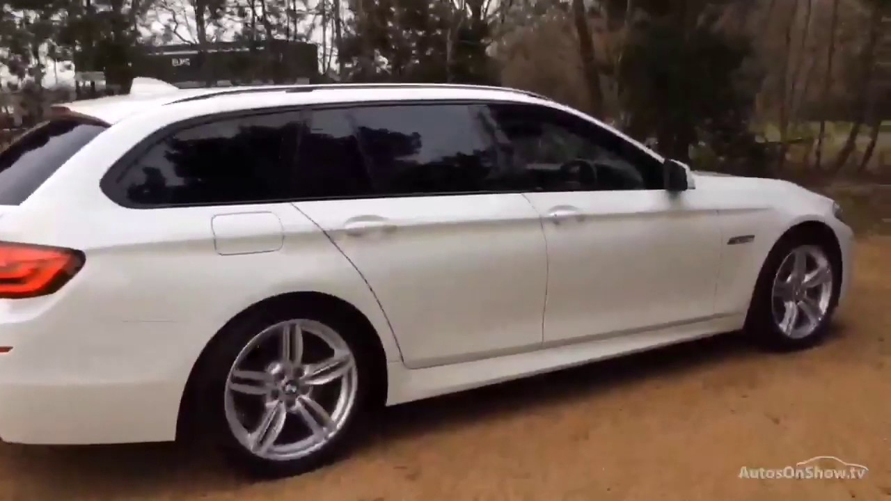 bmw 5 series 520d m sport touring white 2013 youtube. Black Bedroom Furniture Sets. Home Design Ideas