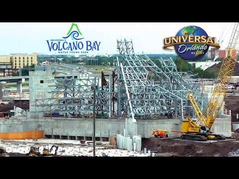 Volcano Bay Construction May 2016 - Universal's Water Park - Construction Update & Concept Art