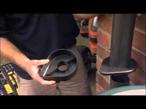 How To Fit A Downpipe Rain Trap Water Diverter From Harrod
