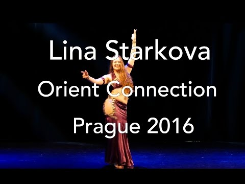 Lina Starkova, classic oriental dance, Orient Connection belly dance festival 2016