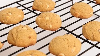 White Chocolate Chip Pumpkin Cookies Recipe - Laura Vitale - Laura In The Kitchen Episode 836