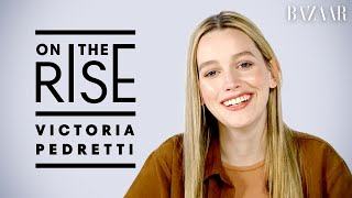 'You' Star Victoria Pedretti Reveals Her First Celebrity Crush and Talks Working With Penn Badgley