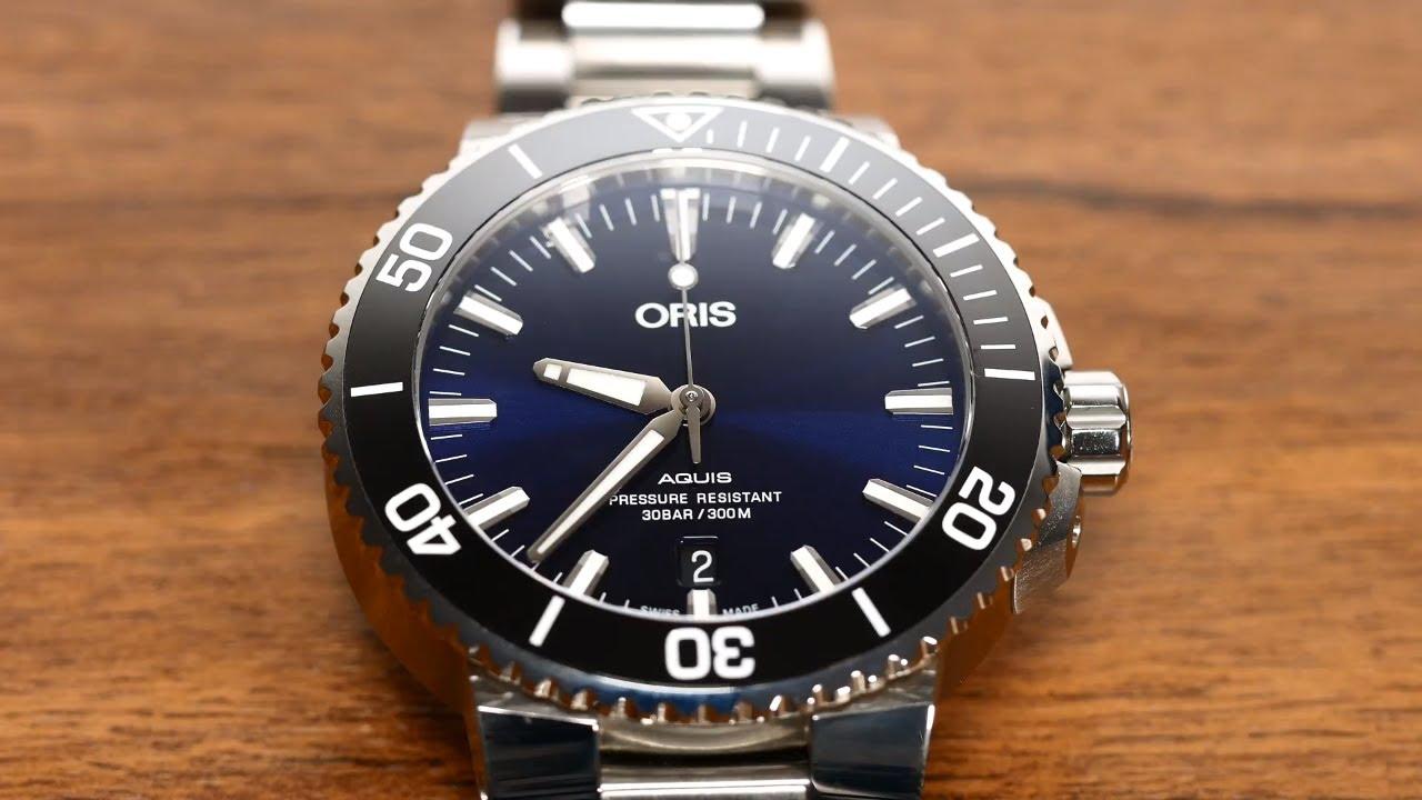 Oris Aquis Date 2017 Review Best Diver Under 2000 Youtube