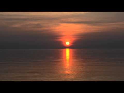 "Flat Earth: Lake Ontario ""Sunrise"""