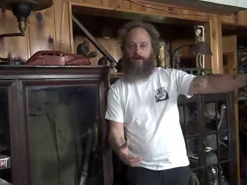 Metal Mike buzzard Junk & Antiques Estate picker MN. Reality bayonets and rant