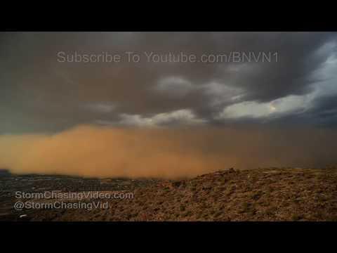 Haboob - Dust Storm Overtakes Phoenix, AZ - 8/12/2018