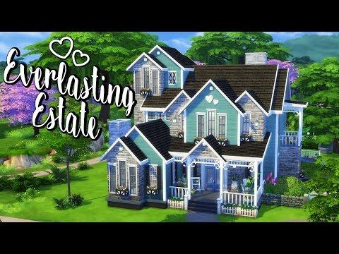 Everlasting Estate | Sims 4 Speed Build
